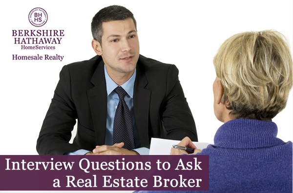 Real estate broker questions